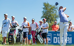 11.06.2017, Diamond Country Club, Atzenbrugg, AUT, PGA European Tour, Lyoness Open, im Bild Jbe Kruger (RSA) // Jbe Kruger of South Africa during the Golf PGA European Tour, Lyoness Open Tournament at the Diamond Country Club in Atzenbrugg, Austria on 2017/06/11. EXPA Pictures © 2017, PhotoCredit: EXPA/ JFK