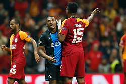 November 26, 2019, Galatasaray, Turkey: Club's Lois Openda and Galatasaray's Ryan Donk pictured during a game between Turkish club Galatasaray and Belgian soccer team Club Brugge, Tuesday 26 November 2019 in Istanbul, Turkey, fifth match in Group A of the UEFA Champions League. (Credit Image: © Bruno Fahy/Belga via ZUMA Press)