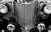 1939 Grille of Chrysler Royal at Antique Car Show Collierville, TN