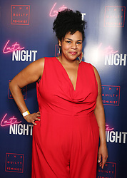 Desiree Burch attending the LATE NIGHT Gala Screening at Picture House Central, London. Picture dated: Monday May 20, 2019. Photo credit should read: Isabel Infantes / EMPICS Entertainment.