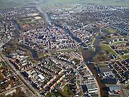 Luchtfoto van Dokkum