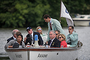 Henley Royal Regatta, Henley on Thames, Oxfordshire, 29 June-3 July 2015.  Thursday  18:37:10   30/06/2016  [Mandatory Credit/Intersport Images]<br /> <br /> Rowing, Henley Reach, Henley Royal Regatta.<br /> <br /> Richard PHELPS,  Umpire Launch