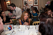 HEATHER KERZNER, Graydon Carter hosts a diner for Tom Ford to celebrate the London premiere of ' A Single Man' Harry's Bar. South Audley St. London. 1 February 2010