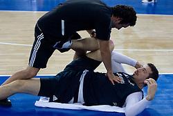 Hidayet Turkoglu of Turkey during the practice session, on September 11, 2009 in Arena Lodz, Hala Sportowa, Lodz, Poland.  (Photo by Vid Ponikvar / Sportida)