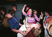 Kiara von Eichel-Butler and Lucy Sykes dancing. Plum & Lucy Sykes 30th birthday. Lot 61,  550 West 21 St. NY.   4/12/99<br />© Copyright Photograph by Dafydd Jones 66 Stockwell Park Rd. London SW9 0DA Tel 020 7733 0108 www.dafjones.com
