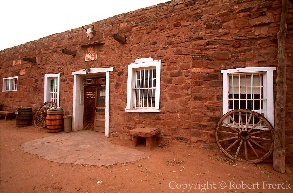 ARIZONA, HISTORIC SITES Hubbell Trading Post for Navajos
