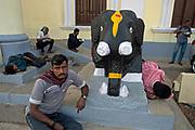 Hindu shrine, Mysore, Karnataka