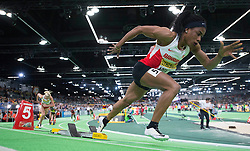 Oluwakemi Adekoya of Bahrain competes in the Women's 400 Metres Semi-Final during day two of the IAAF World Indoor Championships at Oregon Convention Center in Portland, Oregon, the United States, on March 18, 2016. EXPA Pictures © 2016, PhotoCredit: EXPA/ Photoshot/ Yang Lei from Chongqing<br /> <br /> *****ATTENTION - for AUT, SLO, CRO, SRB, BIH, MAZ, SUI only*****