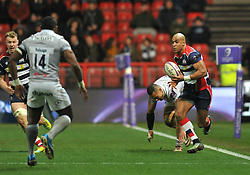 Tom Varndell of Bristol Rugby - Mandatory by-line: Paul Knight/JMP - 13/01/2017 - RUGBY - Ashton Gate - Bristol, England - Bristol Rugby v Bath Rugby - European Challenge Cup