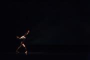 Santa Clara University Department of Theatre & Dance students perform during the dress rehearsal of Images at Santa Clara University's Louis B. Mayer Theatre in Santa Clara, California, on February 4, 2014. (Stan Olszewski/SOSKIphoto)