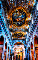 """Cathedral of Saints Philip and James in Sorrento - Nave to the Crucifixion""…<br />