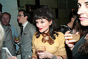 MISS JULIA, GQ Style party, The Bassoon Bar , The Corinthia Hotel, Whitehall Place London. 15 March 2011.  -DO NOT ARCHIVE-© Copyright Photograph by Dafydd Jones. 248 Clapham Rd. London SW9 0PZ. Tel 0207 820 0771. www.dafjones.com.