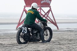 Born Free's Grant Peterson takes of from the start at TROG (The Race Of Gentlemen) in Wildwood, NJ. USA. Saturday June 9, 2018. Photography ©2018 Michael Lichter.