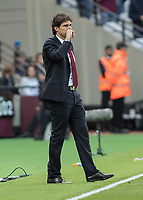 Football - 2016 / 2017 Premier League - West Ham United vs. Middesborough <br /> <br /> Middlesborough Manager Aitor Karanka <br />  at The London Stadium.<br /> <br /> COLORSPORT/DANIEL BEARHAM
