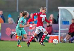 Gemma Evans of Bristol City - Mandatory by-line: Paul Knight/JMP - 28/10/2018 - FOOTBALL - Stoke Gifford Stadium - Bristol, England - Bristol City Women v Arsenal Women - FA Women's Super League