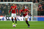 Anthony Martial of Manchester Utd in action. .EFL Cup Final 2017, Manchester Utd v Southampton at Wembley Stadium in London on Sunday 26th February 2017. pic by Andrew Orchard, Andrew Orchard sports photography.