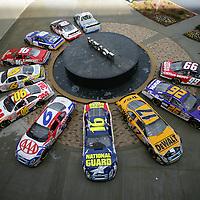 D6ROUSH Roush Racing Race Cars at Roush Racing Headquarters