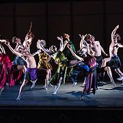 """Mark Morris Dance Group perfoms """"Grand Duo"""" at Libbey Bowl on June 7, 2013 in Ojai, California."""