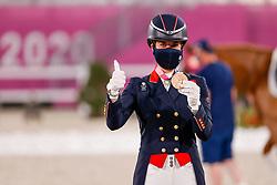 Dujardin Charlotte, GBR<br /> Olympic Games Tokyo 2021<br /> © Hippo Foto - Stefan Lafrentz<br /> 28/07/2021