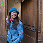 Piccolo Teatro Grassi, Milano, Italia, 7 Aprile 2021. Arianna Marano, attrice, imprenditrice e trader.