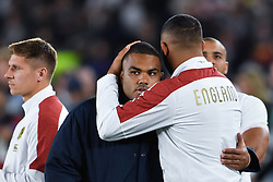 England's Kyle Sinckler looks dejected after their 32-12 defeat in the 2019 Rugby World Cup final match against South Africa at Yokohama Stadium.