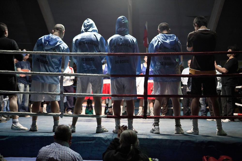 El club de boxeo que represento a Puerto Natales, Magallanes Chile <br /> Club de Boxeo Chino Miranda