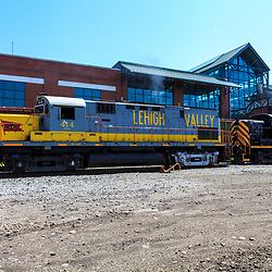 Scranton, PA - June 20, 2013: Steamtown National Historic Site is a railroad museum. Operated by the National Park Service, it includes a large collection of locomotives.