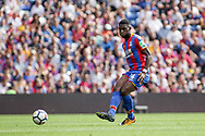 Timothy Fosu Mensah of Crystal Palace in action. <br /> Premier League match, Crystal Palace v Swansea city at Selhurst Park in London on Saturday 26th August 2017.<br /> pic by Kieran Clarke, Andrew Orchard sports photography.