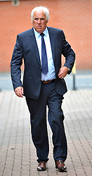 © London News Pictures. 12/06/2013 . Manchester, UK. NEVILLE NEVILLE, Father of former Manchester United footballers Gary and Phil Neville arriving at Bury Magistrates Court in Bury where he is charged with one count of sexual assault in relation to an alleged incident involving a 46-year-old woman. Photo credit : Steve Allen/LNP