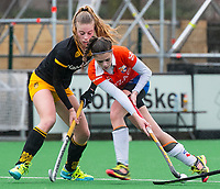 20170319 BLOEMENDAAL - landelijke jeugdcompetitie Bloemendaal Meisjes A1-Den Bosch MA1 (2-3).  Mikki van Vonderen (Bl'daal) . COPYRIGHT KOEN SUYK