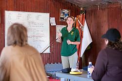Dawn Scott Teaching Earthwatchers