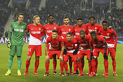 December 6, 2017 - Na - Porto, 06/12/2017 - Football Club of Porto received, this evening, AS Monaco FC in the match of the 6th Match of Group G, Champions League 2017/18, in Estádio do Dragão. Monaco's initial 11  (Credit Image: © Atlantico Press via ZUMA Wire)