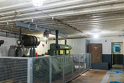 24.06.2016, Audinghen, FRA, Museum der Batterie Todt am Atlantikwall, im Bild Punker Innenansicht, Generator Raum // The Todt Battery is a battery of coastal artillery built by the Germans in World War II. It was one of the most important coastal fortifications of the Atlantic Wall, and consisted of four 380 mm calibre Krupp guns with a range up to 55.7 km, capable of reaching the British coast, and each protected by a bunker of reinforced concrete, Audinghen, France on 2016/06/24. EXPA Pictures © 2016, PhotoCredit: EXPA/ JFK