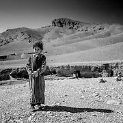 Nomad girl, Dades Valley, Morocco (November 2006)