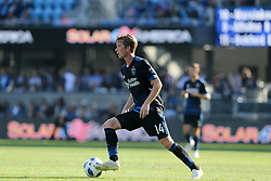 October 21, 2018 - San Jose, California, United States - San Jose, CA - Sunday October 21, 2018: Jackson Yueill during a Major League Soccer (MLS) match between the San Jose Earthquakes and the Colorado Rapids at Avaya Stadium. (Credit Image: © Casey Valentine/ISIPhotos via ZUMA Wire)