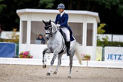 Guillem Pauline, FRA, Barcelona De Malleret<br /> World Championship Young Horses Verden 2021<br /> © Hippo Foto - Dirk Caremans<br /> 27/08/2021