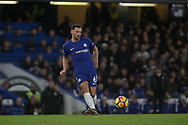 Danny Drinkwater of Chelsea in action. <br /> Premier league match, Chelsea v Stoke city at Stamford Bridge in London on Saturday 30th December 2017.<br /> pic by Kieran Clarke, Andrew Orchard sports photography.