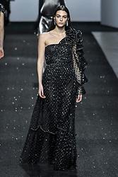 Milan Fashion Week Fashion for women autumn winter 2019 - 2020. Alberta Ferretti fashion show. In the photo: Vittoria Ceretti