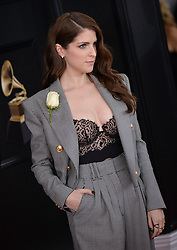 Anna Kendrick attends the 60th Annual GRAMMY Awards at Madison Square Garden on January 28, 2018 in New York City, NY, USA. Photo by Lionel Hahn/ABACAPRESS.COM