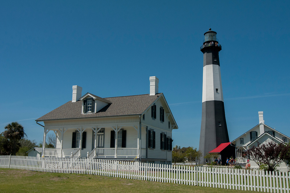 Tybee Light Station and Museum in Tybee Island, Georgia on Sunday, April 1, 2018. Copyright 2018 Jason Barnette