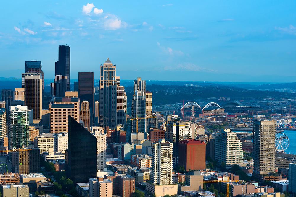 Downtown Seattle, Washington State, USA