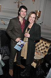 MARK DRAKE and KIRSTEN O'BRIEN at the opening night performance of The Rocky Horror Show, This performance is to celebrate the 40th Anniversary UK Tour, at The New Wimbledon Theatre, Wimbledon, London SW19 on 21st January 2013.