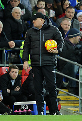 Cardiff City Manager, Russell Slade - Photo mandatory by-line: Paul Knight/JMP - Mobile: 07966 386802 - 20/12/2014 - SPORT - Football - Cardiff - Cardiff City Stadium - Cardiff City v Brentford - Sky Bet Championship