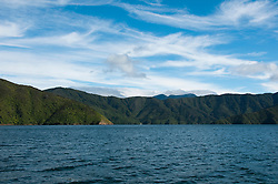 New Zealand, South Island: Scenic landscape near town of Picton on Marlborough Sounds. Photo copyright Lee Foster. Photo # newzealand125208