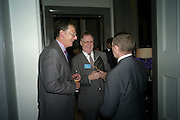 ERIK DARBY; JAMES REATCHLOUS; GLEN DONOVAN, Luxury Briefing Wealth Summit Conference drinks. Corinthia Hotel. Whitehall, London. 27 October 2011.<br /> <br />  , -DO NOT ARCHIVE-© Copyright Photograph by Dafydd Jones. 248 Clapham Rd. London SW9 0PZ. Tel 0207 820 0771. www.dafjones.com.