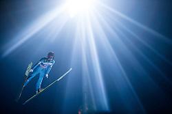 06.01.2015, Paul Ausserleitner Schanze, Bischofshofen, AUT, FIS Ski Sprung Weltcup, 63. Vierschanzentournee, Finale, im Bild Elias Tollinger (AUT) // Elias Tollinger of Austria during Final Jump of 63rd Four Hills <br /> Tournament of FIS Ski Jumping World Cup at the Paul Ausserleitner Schanze, Bischofshofen, Austria on 2015/01/06. EXPA Pictures © 2015, PhotoCredit: EXPA/ JFK