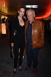 DAVID BAILEY and his wife CATHERINE BAILEY at the GQ Men of The Year Awards 2013 in association with Hugo Boss held at the Royal Opera House, London on 3rd September 2013.