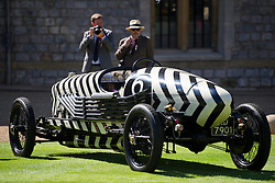 © London News Pictures. 07/09/2012. Windsor, UK . A 1918 Straker-Squire X/2 prototype, one of 60 of the rarest motorcars from around the world at Windsor Castle in Berkshire for the WIndsor Castle Concours Of Elegance on September 07, 2012. The three day event is open to the public on Saturday and Sunday. Photo credit: Ben Cawthra/LNP