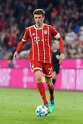 31.03.2018, Allianz Arena, Muenchen, GER, 1. FBL, FC Bayern Muenchen vs Borussia Dortmund, 28. Runde, im Bild Thomas Mueller (FC Bayern Muenchen) // during the German Bundesliga 28th round match between FC Bayern Munich and Borussia Dortmund at the Allianz Arena in Muenchen, Germany on 2018/03/31. EXPA Pictures © 2018, PhotoCredit: EXPA/ Eibner-Pressefoto/ Stuetzle<br /> <br /> *****ATTENTION - OUT of GER*****
