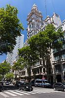 EXTERIORES DE PALACIO BAROLO, BARRIO DE MONSERRAT, CIUDAD AUTONOMA DE BUENOS AIRES, ARGENTINA (PHOTO BY © MARCO GUOLI - ALL RIGHTS RESERVED. CONTACT THE AUTHOR FOR IMAGE REPRODUCTION)
